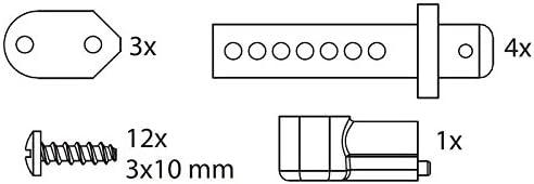 Carson 500405430 – Modélisme Accessoires&8239;: CY Kit E Support Support Support Carrosserie, Stree tbreaker e9545e