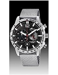 Lotus Reloj Cronógrafo para Hombre de Cuarzo con Correa en Acero Inoxidable  10137 4 755536c64ebe