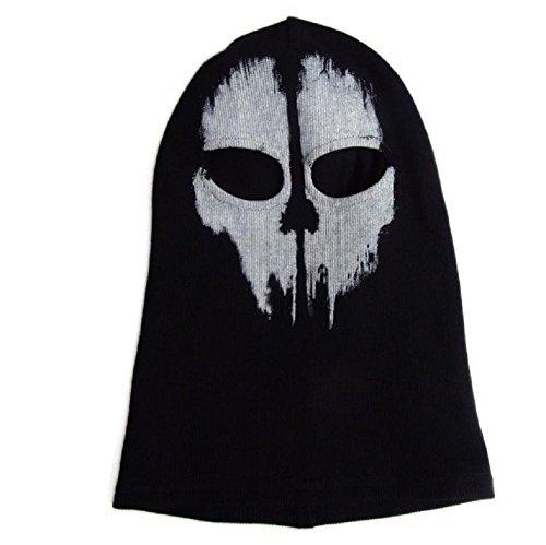Unbekannt Calavera Máscara motocicleta máscara de esquí–Gorro pasamontañas para Halloween (MA002)