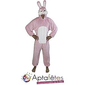 Aptafêtes CS924490 - Disfraz de conejo para mujer, talla única (30110405)