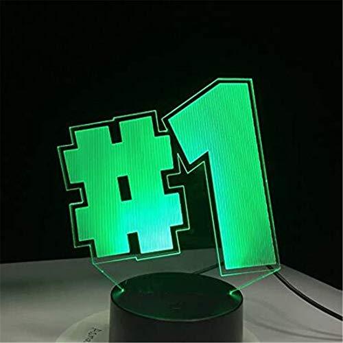 Led-Nachtlicht-Scheinwerfer Zum Öffnen klicken Sie auf Expanded View 3D Led Night Light Game Series # 1 Design Night View Serie