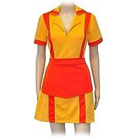 CoolChange uniforme de camarera de la serie Dos Chicas sin Blanca (2 Broke Girls). Talla: XL