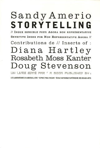 Storytelling : Index sensible pour Agora...