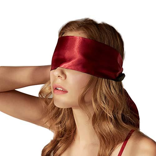 VicSec Máscara de Ojos Suave 2 Lados Disponibles Cinta de Satén – 1.5M