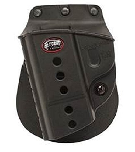 Fobus Evolution E2 Paddle Holster passend für S & W M & P 9 mm/40/45 Full Size & Compact, M & P 2.0 9 mm/40/45, sdve9, sdve40, M & P 22 Kompakt, links Hand (Standard-paddle-holster Fobus)