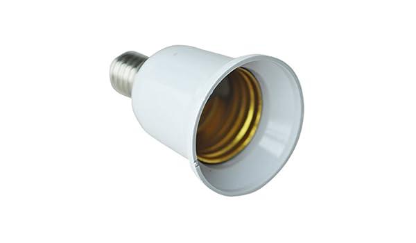 REFURBISHHOUSE Adaptateur dampoule LED CFL//convertisseur de Douille E14 vers E27