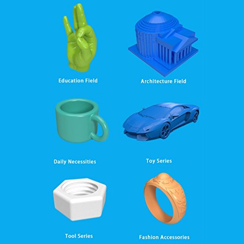 Anet X6 High Speed Precision DIY 3D Drucker Printer Kit mit größerer Druckgröße 220*220*250mm | PLA ABS 1.75mm Filament | Auto-Nivellierung | Technischer Support - 7