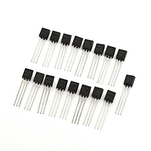 LEORX 340pcs Transistor PNP Transistor NPN To-92