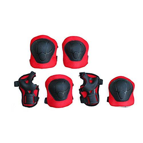FYINN 7pcs Kids Children Roller Skating Skateboard BMX Scooter Cycling Protective Gear Pads (Knee pads+Elbow pads+wrist pads+helmet)