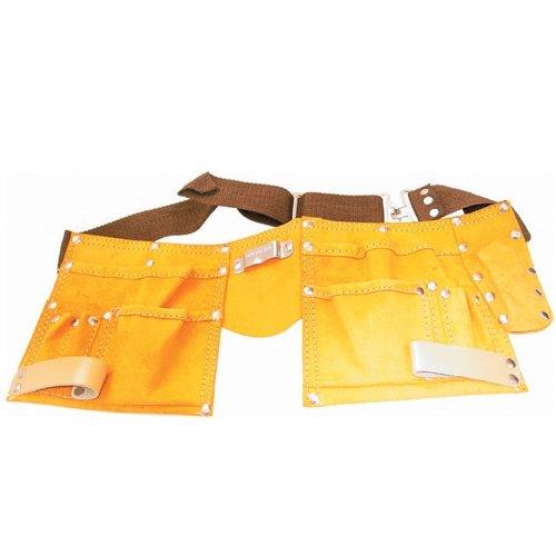Werkzeuggürtel Leder 11 Taschen