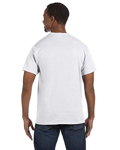 Hanes Men'S Tagless T-Shirt - White - 5Xl-UMTS5250T-6PK (Hanes Oxford White)