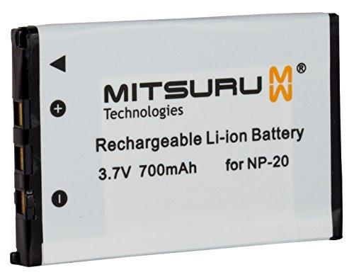 Mitsuru® Akku Ersatz für NP20 NP-20. passend zu Casio Exilim M1 M2 M20 S1 S1PM S2 S20 S23 S3 EX-S100 EX-S500 EX-S600 EX-S600D SX-S770 EX-S770D Np-20 Batterie