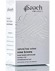 Saach Organics Natural Hair Colour (Rose Brown)