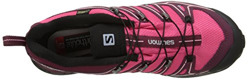 Salomon X Ultra 2 Gtx, Chaussures de randonnée à tige basse femme Rose (Hot Pink/Bordeaux/Pebble Blue)