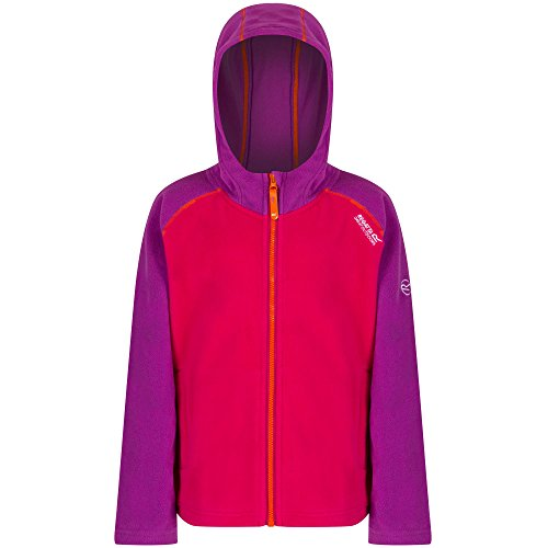 Regatta Boys & Girls Upflow Warm Lightweight Full Zip Fleece Jacket (Fleece Kleiner Full Junge Zip)