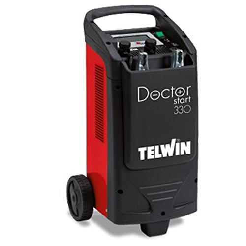 Telwin Doctor Start 330 pulsetronic de démarrage d'urgence Starter Chargeur de batterie Conservation Chargeur 12 V/24 V