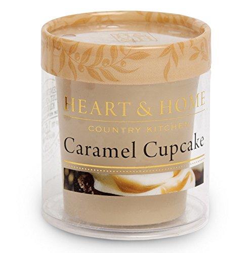 Heart and Home 3275020212 Duftkerze Votiv Caramel Cupcake