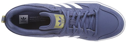 adidas Varial Ii Low, Chaussures de Skateboard Homme Bleu (fadink/ftwwht/go)