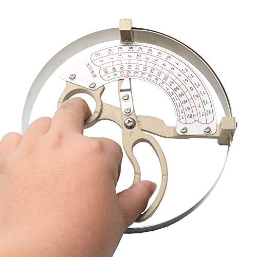 CGOLDENWALL Kappe Innendurchmesser Tester Waage Caps Größe Professionelles Messwerkzeug General 42-52 cm 49-62 cm 55-68 cm 57-70 cm, 55-68cm, 1 -