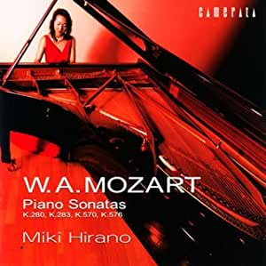 Mozart:Piano Sonatas Vol.6 [Import allemand]