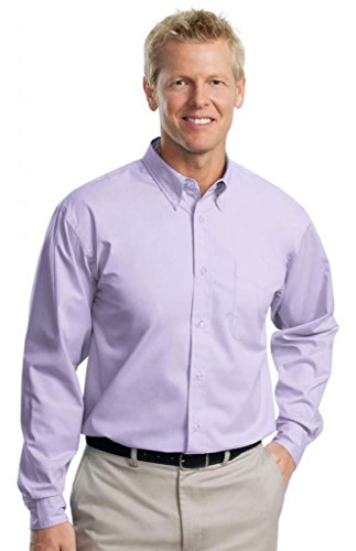Hafenbehörde hoch Easy Care Shirt Short Sleeve Bright Lavender