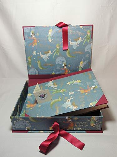 HANDERBEIT FOTO ALBUM 23 x 30cm - 30 blatter - mit BOX- Peter Pan Pan-box