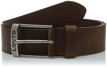 LEVIS FOOTWEAR AND ACCESSORIES New Duncan, Cintura Uomo, Marrone (Dark Brown), 80
