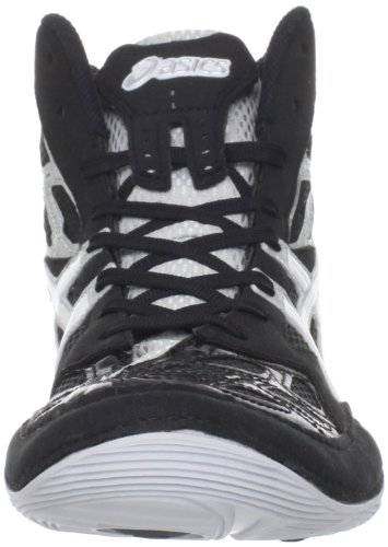 Asics J203Y Men's SPLIT SECOND 9 Shoes, Black/White/Silver, 6H/ UK:SIZE 5.5 D(M)