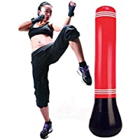 KY Saco de Boxeo Inflable Boxing MMA Punching Target Bag Free-Standing Tumbler