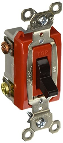 Heavy-duty-20 Amp (Pass & Seymour PS20AC3 Grounding Heavy Duty 3-Way-Toggle Switch, 20-Amp, Brown by Pass & Seymour)