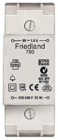 Friedland Bell Transformer 8V 1A (D780)