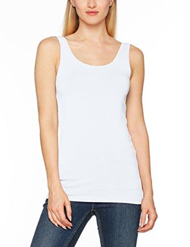 ONLY Damen Onllive Love New Tank Top Noos Weiß (White), 40 (Herstellergröße: L)
