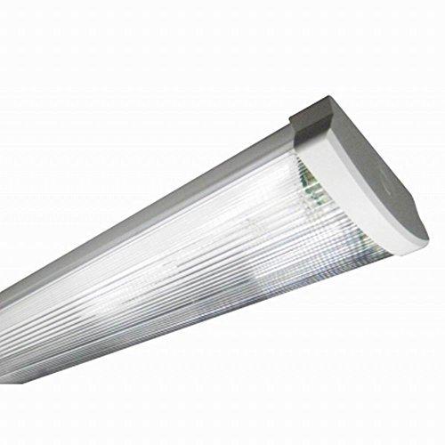 Fach Raster (Bioledex Simpo 2-Fach Innenraumleuchte für 120 cm LED Röhre LUI-2120-910)
