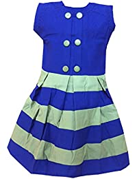b84a2ce0721d ALL ABOUT PINKS® Striped Cotton Dresses for Girls Birthday Dress Baby Girl  Frocks Party Dress