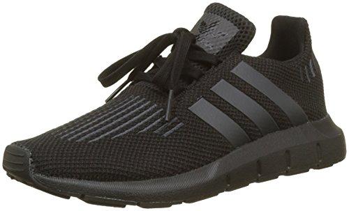 adidas Unisex-Kinder Swift Run C Gymnastikschuhe, Schwarz (Core Black/Utility Black F16/Core Black), 35 EU (Adidas-symbol)