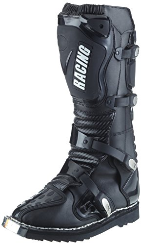 Protectwear Bottes de motocross CS-RC Racing, 07034, noir, Taille: 43