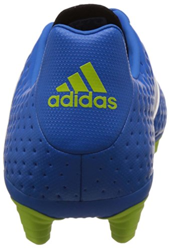 Adidas Ace 16.4 Fxg, Scarpe da Calcio Uomo, Multicolore Blu (Shock Blue/Ftwr White/Semi Solar Slime)