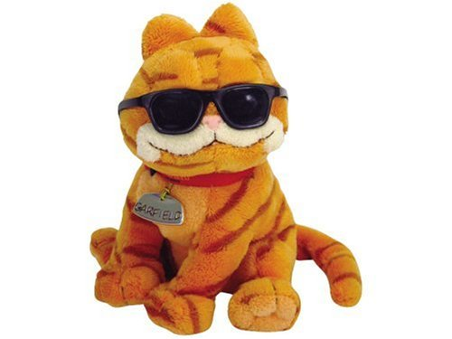 Ty UK Beanie Baby - Garfield Cool Cat Soft Toy