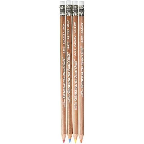 General lápiz 4 lápices de tizas para tacos de billar Multipastel® / Pakage Brights