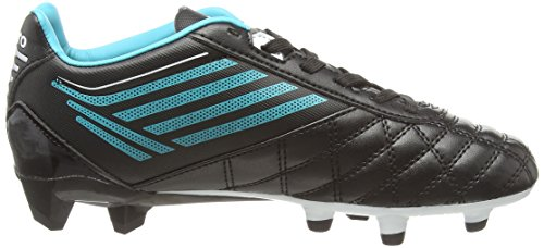 Umbro Medusæ Club Hg Jnr, Chaussures de Football Entrainement Garçon Noir (Ecg/Black/White/Bluebird)