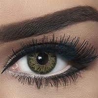 Freshlady Cosmetic contact lens - N Green Yellow
