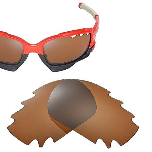 Cofery Ersatzgläser für Oakley Jawbone Sonnenbrillen, Verschiedene Optionen erhältlich, Unisex, Brown - Polarzed, Einheitsgröße