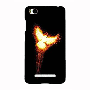 Back cover for Xiaomi Mi4i Fire Bird