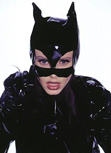 Kitty Maske Leatherlike Halloween Kostueme Maske Gesicht Maske Over-the-Head-Maske Kostuem Stuetze fuer Maskerade Make-up - Halloween Für Make-up Kitty