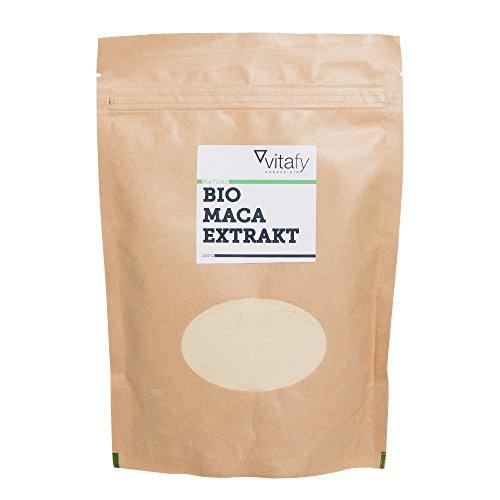 Vitafy Essentials Bio Maca Pulver