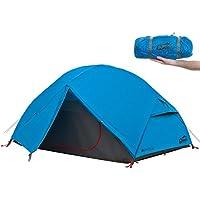 Qeedo Light Birch 2 Personen Trekking-Zelt leicht und kleines Packmaß (2.880 g)