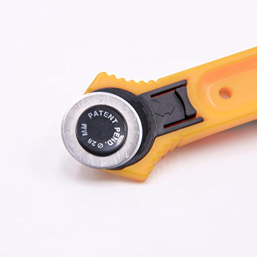vhbw Cutter Rotatif Circulaire 28mm