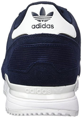 adidas Zx 700, Scarpe da Corsa Unisex Adulto Blu (Night Navy/ftwr White/collegiate Navy)