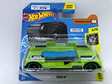2019 Hot Wheels Experimotors 4/10 Zoom in Hero Green 5 Session Works with GoPro 103/250 (Short Card)
