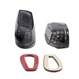 Motorrad LED Verkleidungsblinker alle BMW S1000R, Paar, Maße:43x25x24mm, get., inkl. Widerstand, E-geprüft